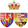 Coat of arms of Luisa of Naples and Sicily as Grand Duchess of Tuscany.png