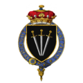 Coat of arms of Sir William Paulet, 1st Marquess of Winchester, KG.png