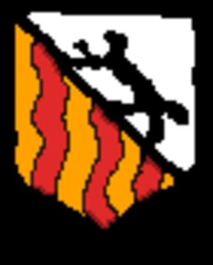 Roemer Visscher - Drawing of the coat of arms of Roemer Visscher