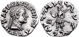 Coin of Indo-Greek king Nikias Soter.jpg