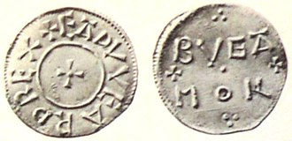 Edward the Elder - Coin of Edward the Elder