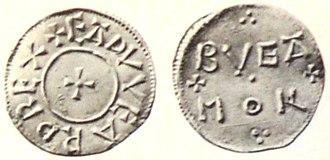 Edward the Elder - Coin of Edward the Elder