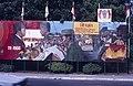 Collectie NMvWereldculturen, TM-20019410, Dia- Schildering ter gelegenheid van het 40-jarig jubileum van de viering van Onafhankelijkheidsdag, Henk van Rinsum, 08-1985.jpg