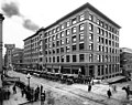 Colman Building, 1st Ave between Columbia St and Marion St, Seattle (CURTIS 1623).jpeg