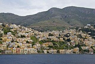 Symi Place in Greece