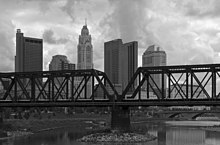 Columbus past the CSX Upper Scioto River Bridge 1.jpg