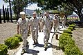 Commandant and Sgt Major of the Marine Corps visit 5th Marines' Iraq and Afghanistan Memorials.jpg