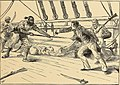 Commodore Stephen Decatur fighting the Turk. Drawn by Frank Thayer Merrill.jpg