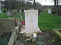 Commonwealth War Grave in Jarrow Cemetery (WW2-42) - geograph.org.uk - 1605070.jpg