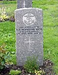 Commonwealth War Graves gravestone of H. H. Richardson in Tromsø.jpg