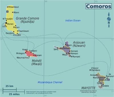 Where Is Comoros Island