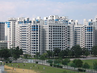 Sengkang Planning Area and HDB Town in North-East Region ----, Singapore