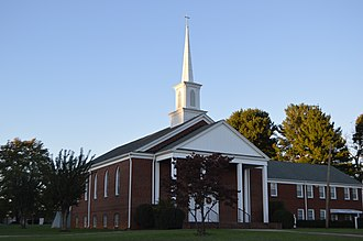 Concord, Campbell County, Virginia - Methodist church