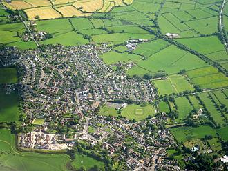 Congresbury - An aerial image of Congresbury