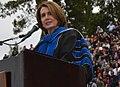 Congresswoman Pelosi address graduates of San José State University (18647141428) (cropped).jpg