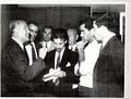 Constantine Adraktas with Werner von Braun (see the Aerodynamics section of the text).jpg