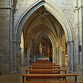 Convento de Santa Clara (Burgos). Nave.jpg