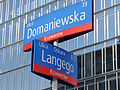 Corner streets Domaniewska and Langego in Warsaw - 01.jpg