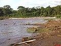 Corredeira Do Trombuco se despedindo para o represamento da PCH Anhanguera - panoramio.jpg