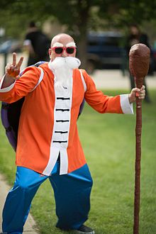 Cosplayer of Kame Sennin, Dragon Ball at Animethon 20160806.jpg