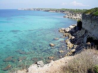 Pianosa - West coast
