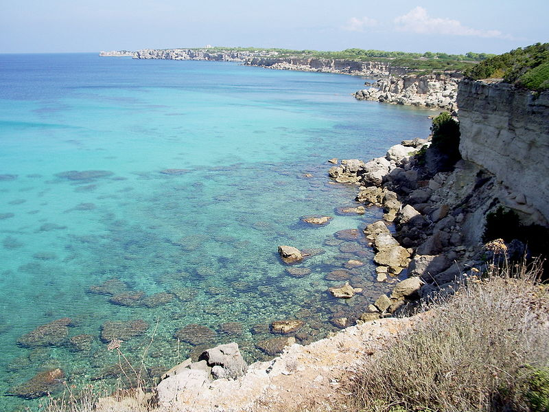 Файл:Costa occidentale Pianosa (LI).jpg
