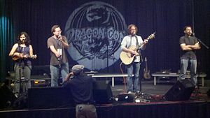 Jonathan Coulton - Coulton, Paul and Storm, and Molly Lewis performing at Dragon*Con 2011