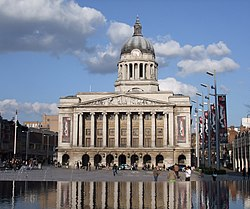 Skyline ya Nottingham
