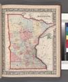 County map of Minnesota. NYPL1510819.tiff