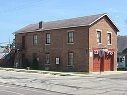 Covington's old village hall, now a museum