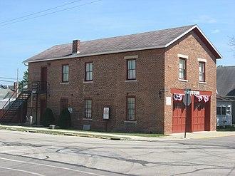 Covington, Ohio - Covington's old village hall, now a museum