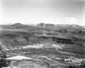 Crater Hill from mesa above Grafton, Utah. ; ZION Museum and Archives Image ZION 14877 ; ZION 14877 (9f5a333a10534b2c8d8149cc91ce5683).tif