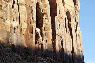 Indian Creek (climbing area) - Image: Creeks Giving Climbing in Indian Creek, Utah 2