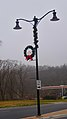 Cross Plains Pole Mounted Wreath with Candles - panoramio.jpg