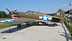 Curtiss P40 Warhawk, Carthage, North Carolina image 1.jpg