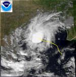 Cyclonic Storm BOB 06 on November 5, 1992.png