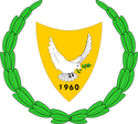 Coat of arms of Cyprus.
