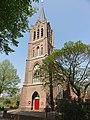 DSC05625 Maasbommel Rijksmonument 523092 RK kerk de toren.JPG