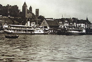 DS Stadt Zürich & Rapperswil - Rapperswil 1914.IMG 2362