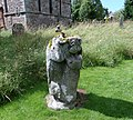 Dacre Bear or Lion, detail of post, body and head, Cumbria, UK.jpg