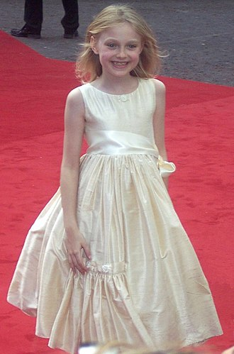 Dakota Fanning - Fanning at the London premiere of War of the Worlds, in June 2005