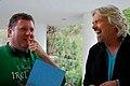 Dan Rosen directing Sir Richard Branson on the set of Freeloaders.jpg
