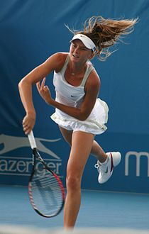 Daniela Hantuchova at the 2009 Brisbane International3.jpg