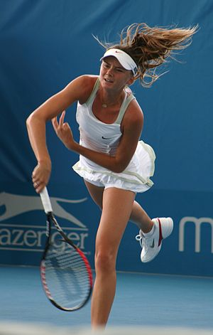 2011 Commonwealth Bank Tournament of Champions - Daniela Hantuchová earns her first win over a World no.1.