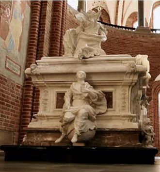 Louise of Mecklenburg-Güstrow - Louise's sarcophagus at Roskilde Cathedral