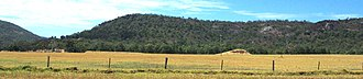 Darling Scarp - Darling scarp from South West Highway between Armadale and Pinjarra