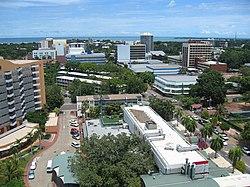 Darwin CBD (Central Business District), circa 2005