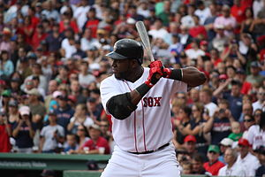 David Ortiz - Ortiz batting in 2009
