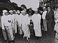 David Ben-Gurion dressed in Burmese national costume during his visit to Burma. D684-059.jpg