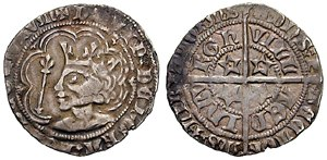 Groat (coin) - Image: David II of Scotland groat 1367 612676